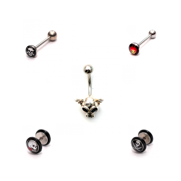 Piercing s lebkou v piercing shope